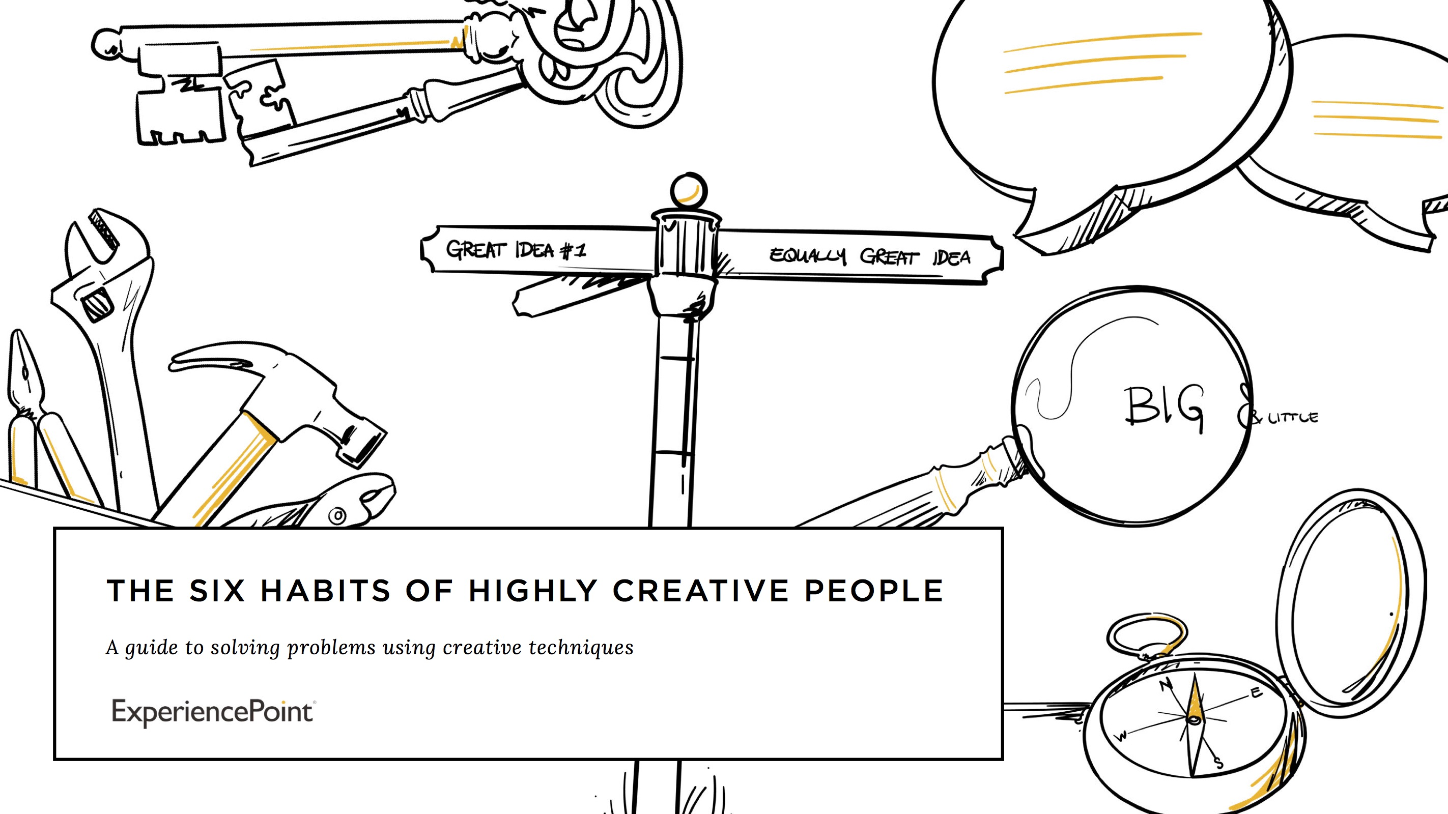 6 Habits of Highly Creative People